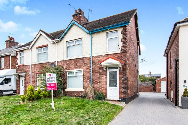 Thumbnail Semi-detached house for sale in Walesby Lane, New Ollerton, Newark