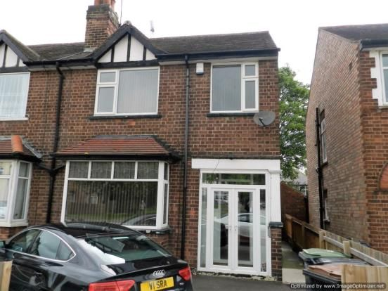 Thumbnail Semi-detached house to rent in Lower Road, Beeston