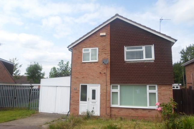 Thumbnail Detached house to rent in Butler Close, Rushey Mead