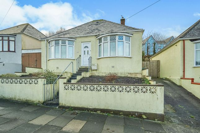 Thumbnail Detached bungalow for sale in Poole Park Road, Plymouth