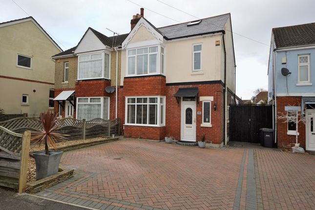 Thumbnail Semi-detached house for sale in Park Avenue, Purbrook, Waterlooville