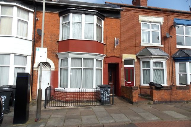Thumbnail Terraced house to rent in Stuart Street, Leicester
