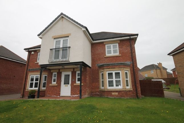 Thumbnail Detached house to rent in Highpark Road, Coylton, Ayr