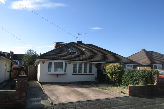 Thumbnail Semi-detached bungalow to rent in Goodwood Road, Gosport