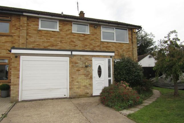 Thumbnail Semi-detached house for sale in Woodland Way, Ongar