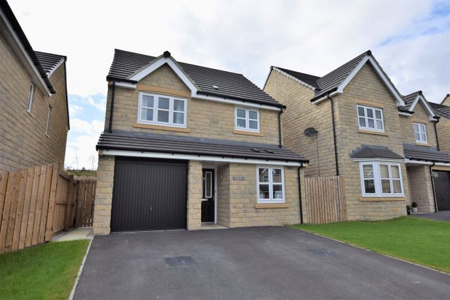 Thumbnail Detached house for sale in Warton Avenue, Lindley, Huddersfield, West Yorkshire