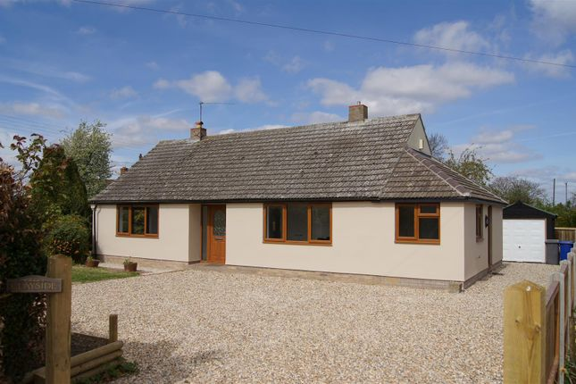 Thumbnail Detached bungalow for sale in Chare Road, Stanton, Bury St. Edmunds