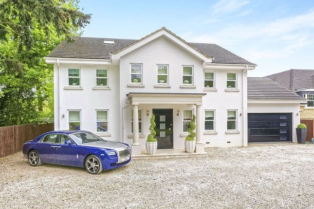 Thumbnail Detached house to rent in Trumpsgreen Road, Virginia Water