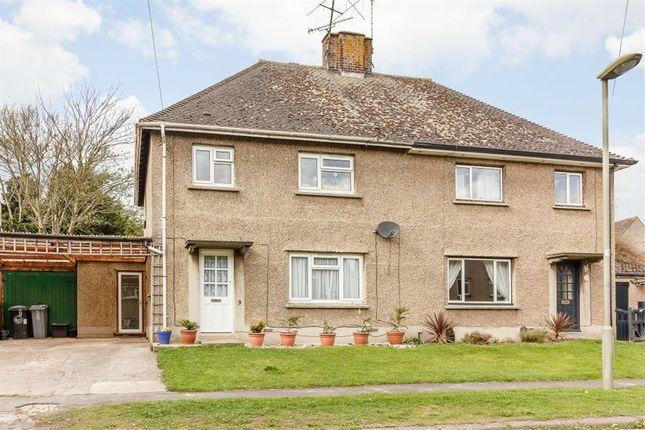 Thumbnail Semi-detached house for sale in Eastfield Road, Witney, Oxfordshire