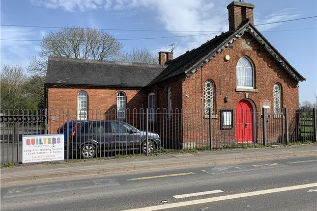 Thumbnail Retail premises for sale in Commercial/Residential Opportunity, Quilters Trading Post, Old School, Woore Road, Buerton, Crewe, Shropshire