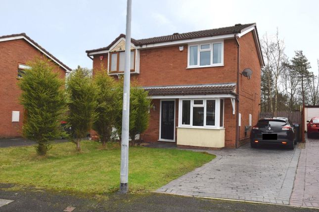 Thumbnail Semi-detached house for sale in Woodrush Heath, The Rock, Telford