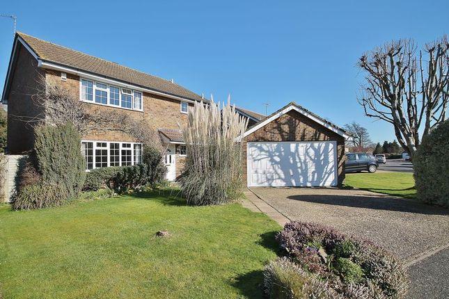 Thumbnail Detached house for sale in Faithfull Crescent, Storrington, Pulborough