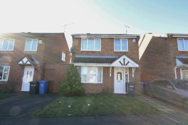 Thumbnail Detached house to rent in Swinburne Close, Kettering