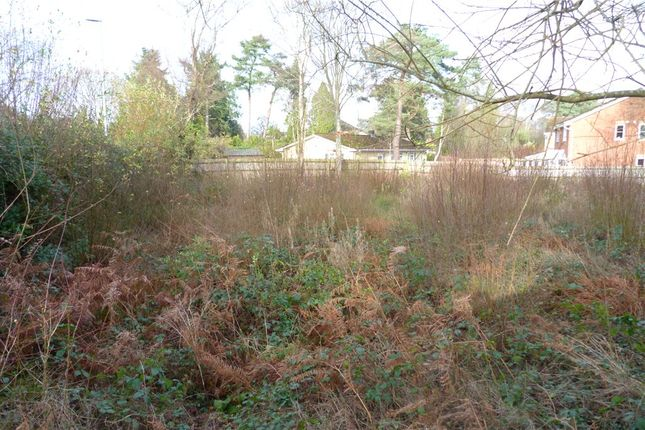 Thumbnail Land for sale in Manor Road, Verwood