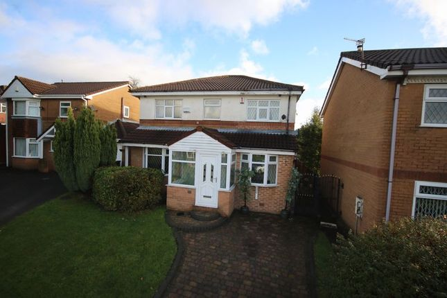 Thumbnail Detached house for sale in Brindley Close, Farnworth, Bolton