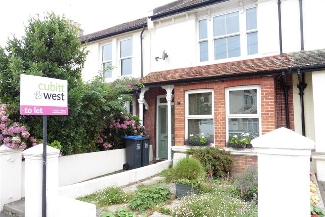 Thumbnail Flat to rent in Southview Road, Southwick, Brighton