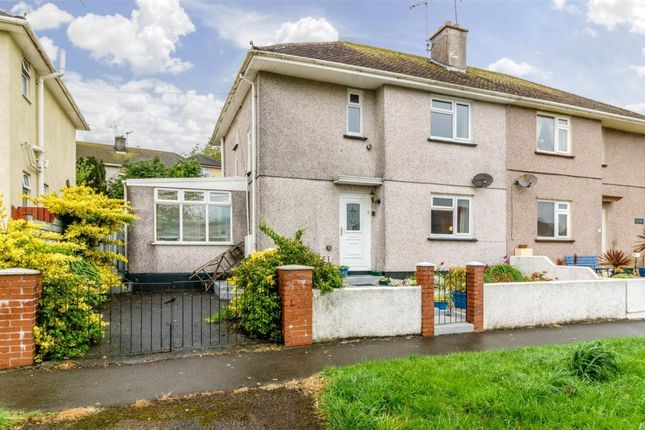 Thumbnail Semi-detached house for sale in Marine Drive, Torpoint, Cornwall