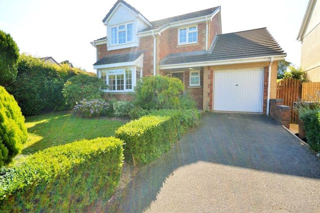 Thumbnail Detached house to rent in Steeple Drive, Exeter, Devon