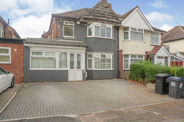Thumbnail Semi-detached house for sale in Hobmoor Croft, Birmingham