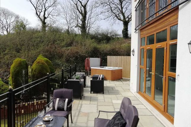 Patio of Ocean View, Pendine, Carmarthen SA33