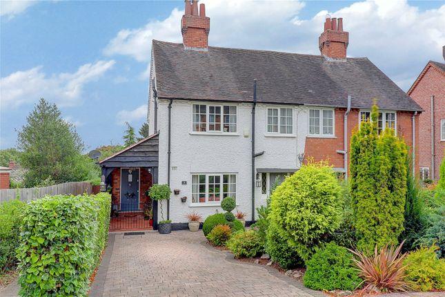 Thumbnail Semi-detached house for sale in Kingsley Road, Bournville Village Trust, Kings Norton, Birmingham