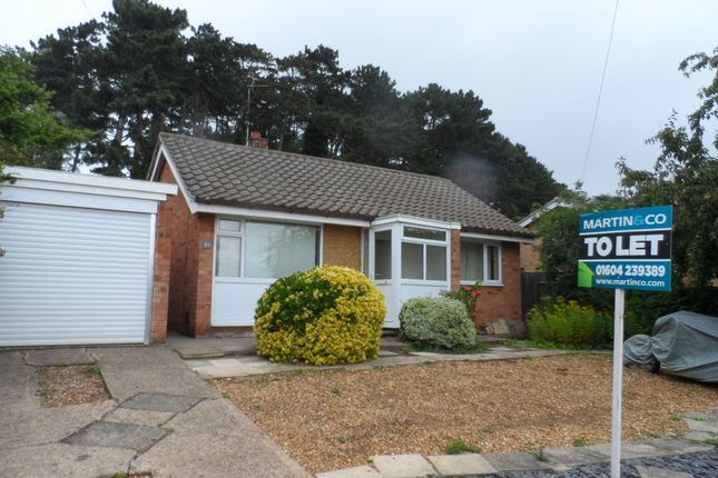 Thumbnail Detached bungalow to rent in Lindale Close, Abington, Northampton