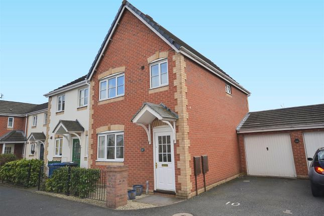 Thumbnail End terrace house to rent in Foxglove Close, Lichfield, Staffordshire