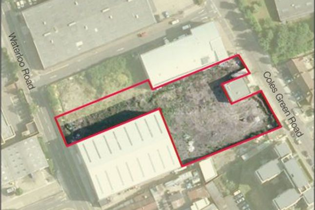 Thumbnail Land for sale in Coles Green Road, London