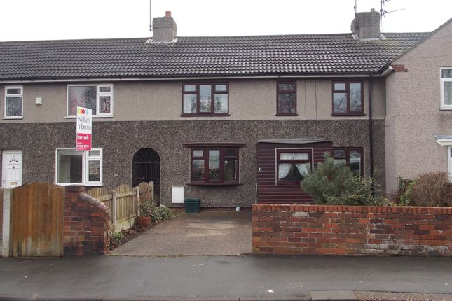 Thumbnail Terraced house for sale in Grange Road, New Rossington, Doncaster