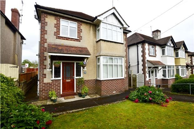 Thumbnail Detached house for sale in Cashes Green Road, Stroud, Gloucestershire