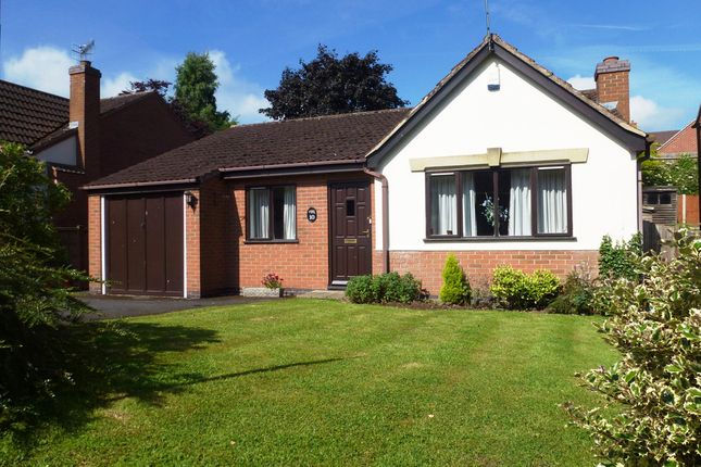 Thumbnail Detached bungalow for sale in Fox Road, Castle Donington, Derby