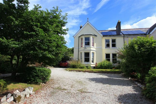 Thumbnail Semi-detached house for sale in Tremena Road, St Austell, Cornwall