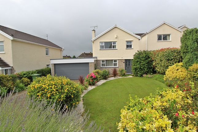 Thumbnail Detached house for sale in Park Lane, Groesfaen, Pontyclun, Rhondda, Cynon, Taff.