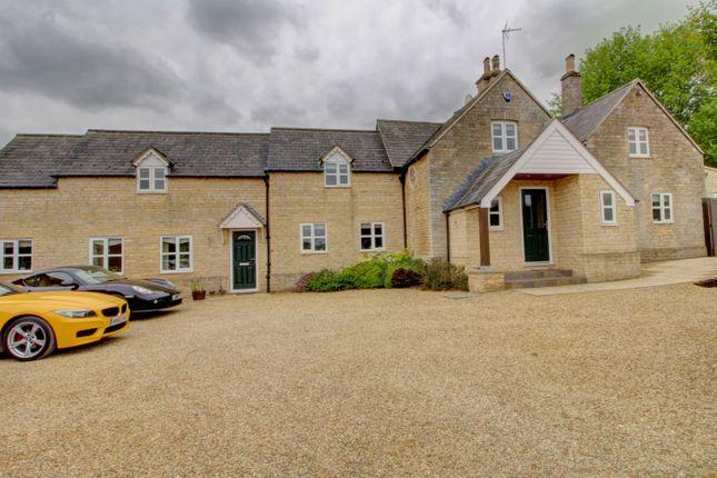 Thumbnail Detached house for sale in Church Lane, Stibbington, Peterborough