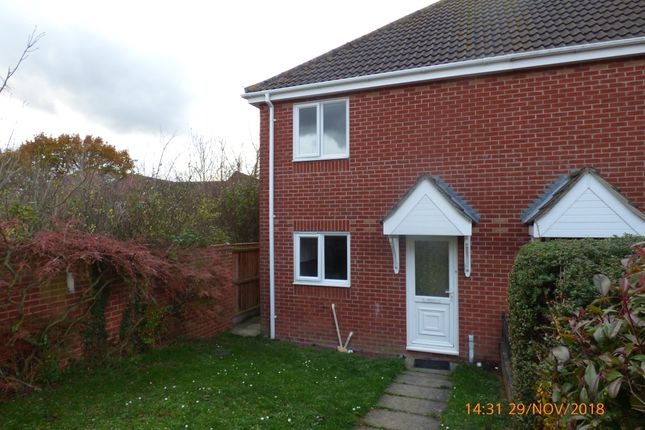 Thumbnail Semi-detached house to rent in Meadowvale Close, Beccles