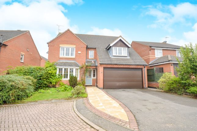 Thumbnail Detached house for sale in Kingston Way, Market Harborough
