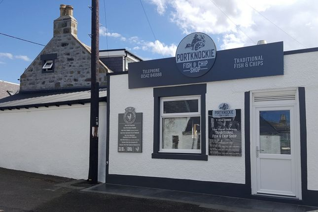 Thumbnail Restaurant/cafe for sale in Portknockie Fish & Chip Shop, Bridge Street, Portknockie, Buckie
