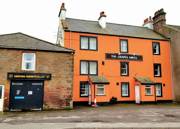 Thumbnail Terraced house for sale in The Grapes Hotel, Market Square, Cumbria