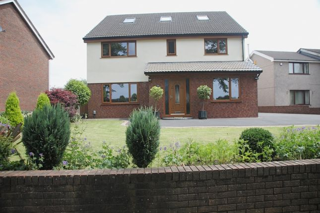 Thumbnail Detached house for sale in Heol Dulais, Birchgrove, Swansea.