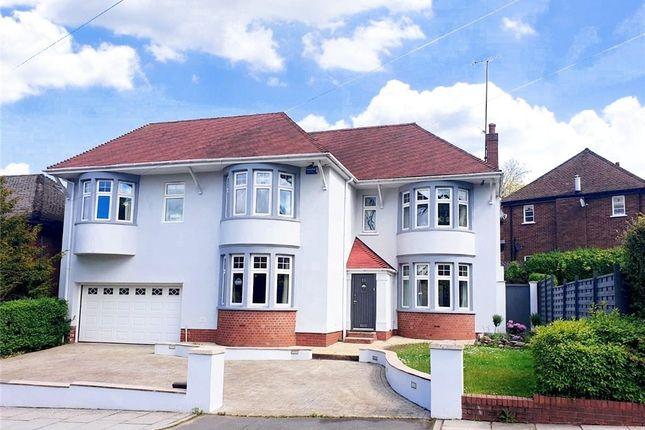 Detached house for sale in Dan-Y-Coed Road, Cyncoed, Cardiff