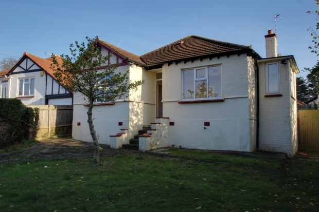 Thumbnail Detached bungalow for sale in Potter Street, Northwood, Middlesex