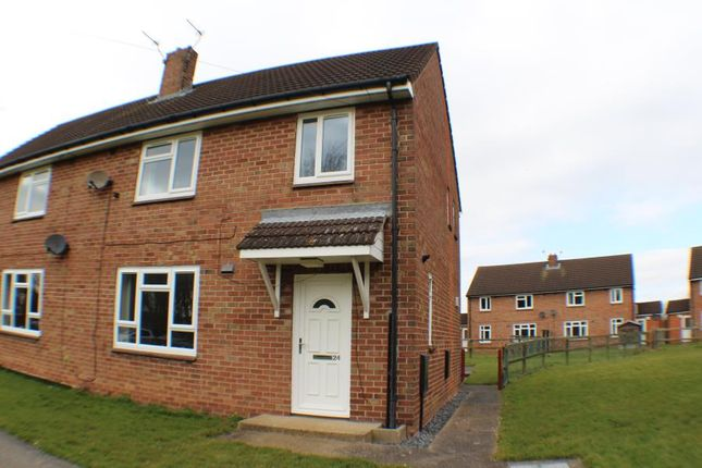 Thumbnail Terraced house to rent in Grange Road, Leconfield, Beverley