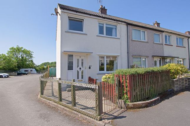 3 bed end terrace house for sale in Sea View Place, Cleator Moor CA25