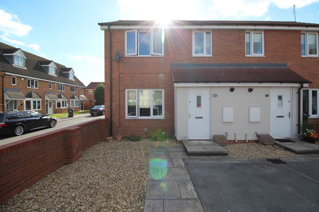 Thumbnail Semi-detached house to rent in Kingfisher Drive, Wombwell