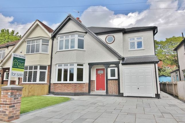 Thumbnail Semi-detached house for sale in Dudlow Gardens, Calderstones, Liverpool
