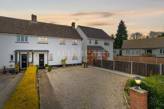 3 bed semi-detached house for sale in Forge Crescent, Bradwell, Braintree CM77