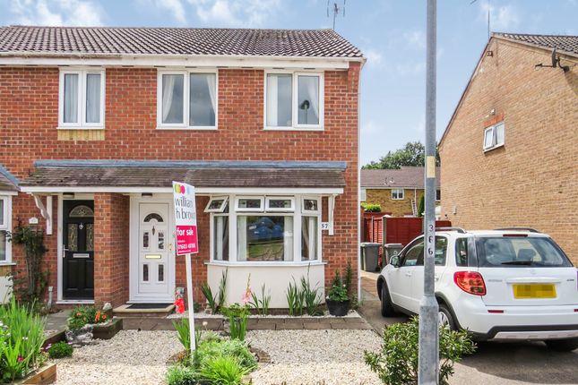 Thumbnail Semi-detached house for sale in Maple Drive, Taverham, Norwich