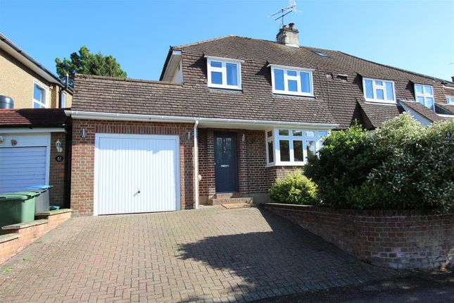 Thumbnail Semi-detached house for sale in Seymour Crescent, Adeyfield, Hemel Hempstead, Hertfordshire
