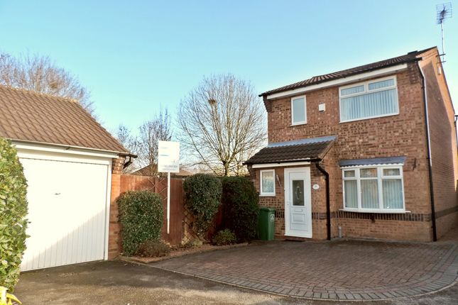 Thumbnail Detached house to rent in Eton Close, The Meadows, Stafford