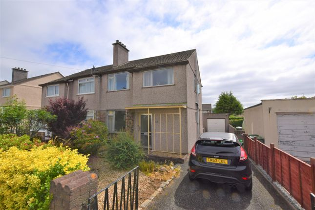 Thumbnail Semi-detached house for sale in Carnock Road, Plymouth
